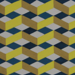 Pattern-Yellow & Blue