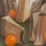 Rocks, Bags, Oranges