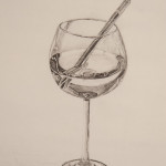 Wine Glass Sketch